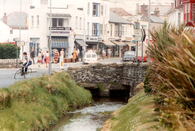 Perranporth Town Centre 1983