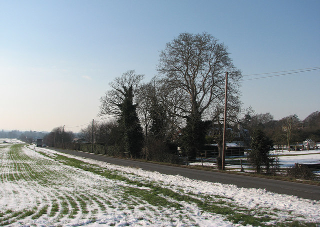Haverhill Road in February