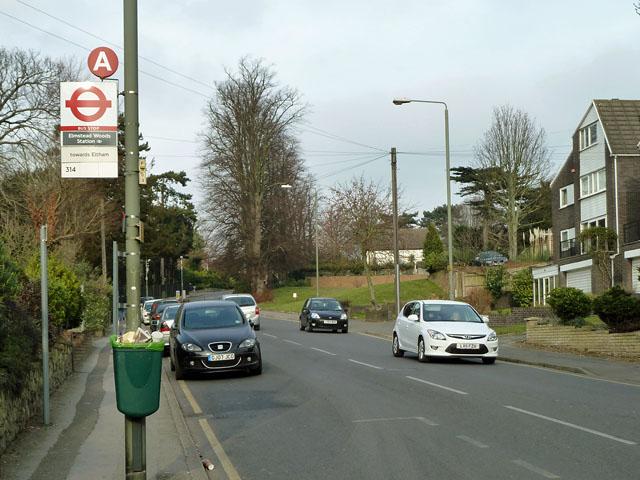 Elmstead Woods Station bus stop
