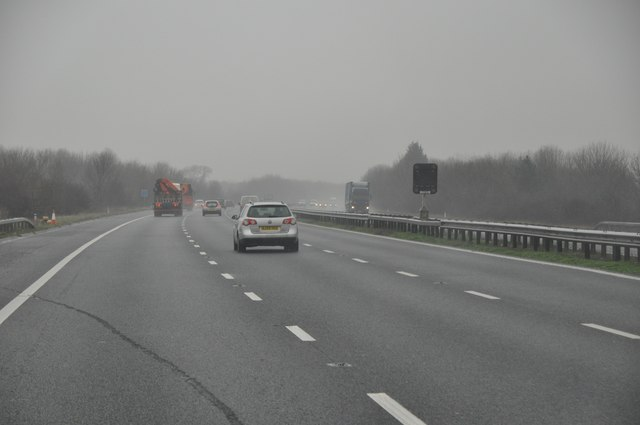 Tewkesbury : The M5 Motorway Northbound