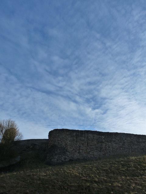 Berwick Castle - Curtain Wall