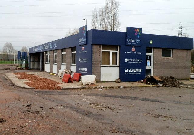 Glan Llyn site office, Queen's Way, Newport
