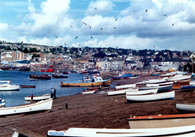 Teignmouth Harbour 1981