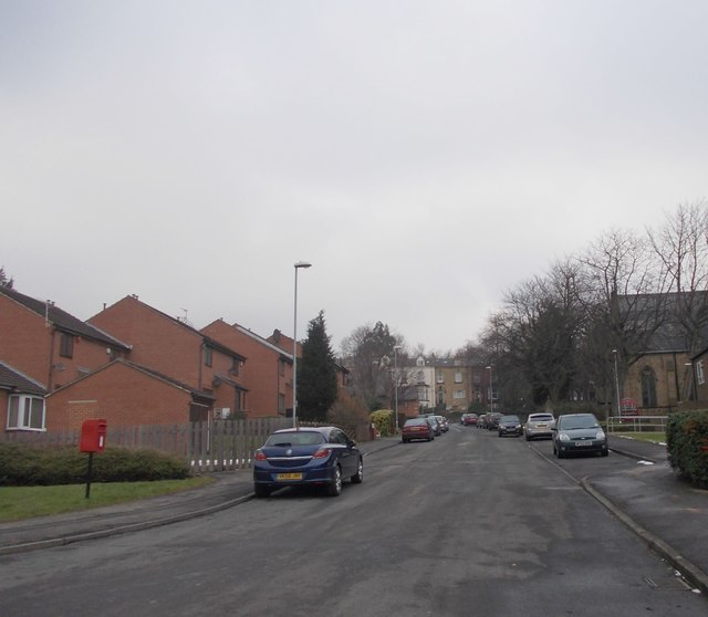 St Matthias' Street - looking towards Burley Road