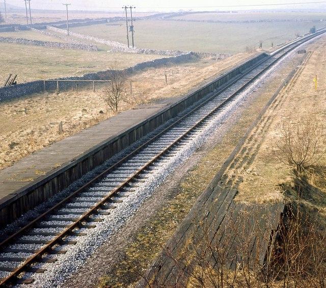 Hurdlow Station 1968