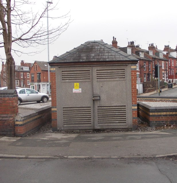 Electricity Substation No 7584 - Redcote Lane