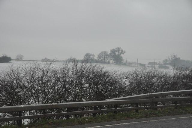 Wychavon : The M5 Motorway Roadside