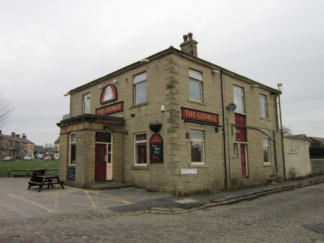 The George on Cleckheaton Road at Low Moor