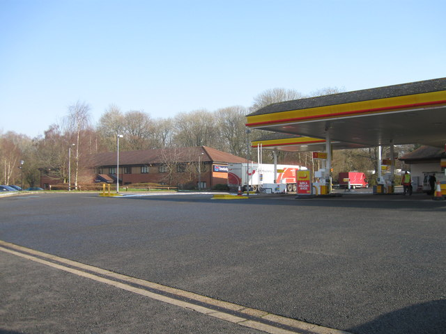 Liphook services, A3, eastbound