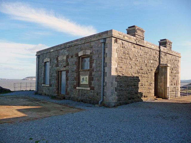Brean Down - Brean Down Fort Officers Quarters