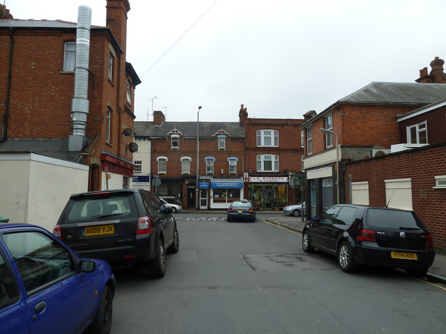 Looking along Chester Street towards Prospect Street