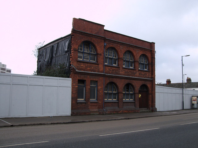 Former bus depot/electricity works, Corporation Street