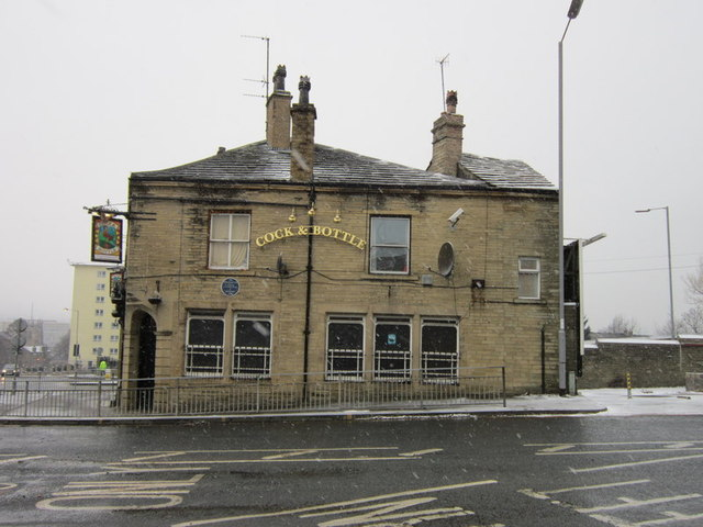 The Cock and Bottle on Barkerend Road, Bradford