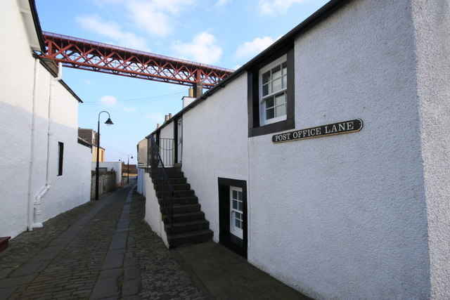 Post Office Lane  North Queensferry