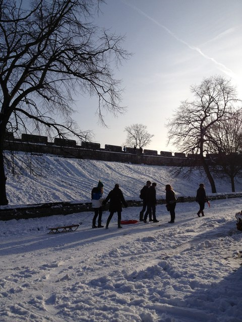 Sledgers, inside the City Walls.  Bishophill, York
