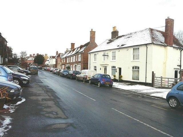 High Street, Elham