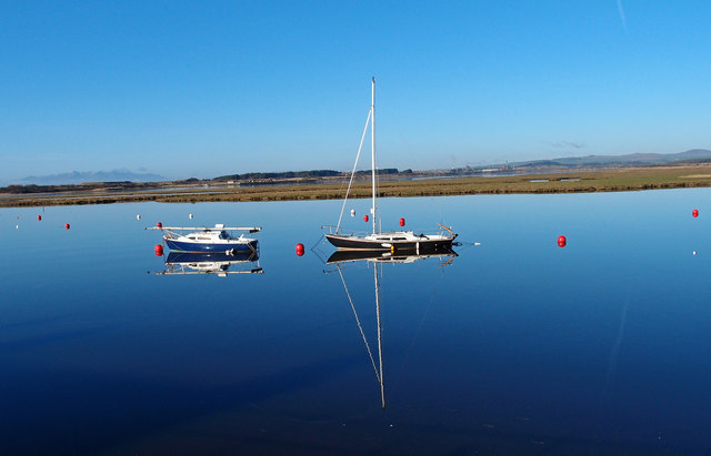 Yachts, Irvine Harbour
