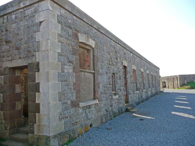 Brean Down - Brean Down Fort Barracks