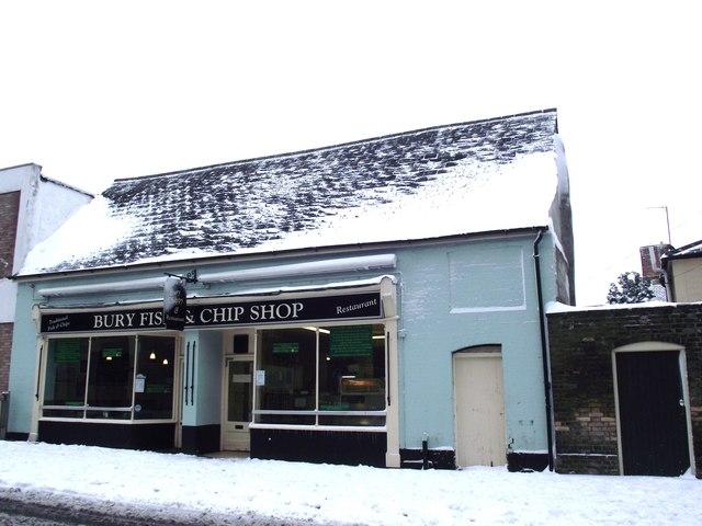 Bury Fish And Chip Shop