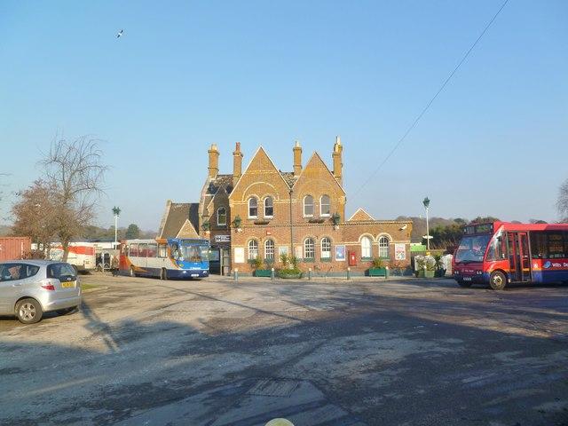 Lymington Town Station