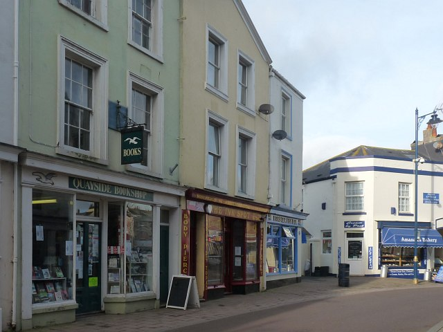 Shops in Northumberland Place, Teignmouth