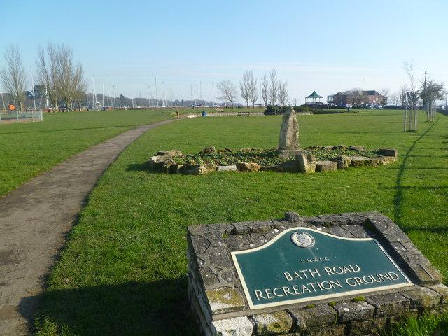 Lymington, recreation ground