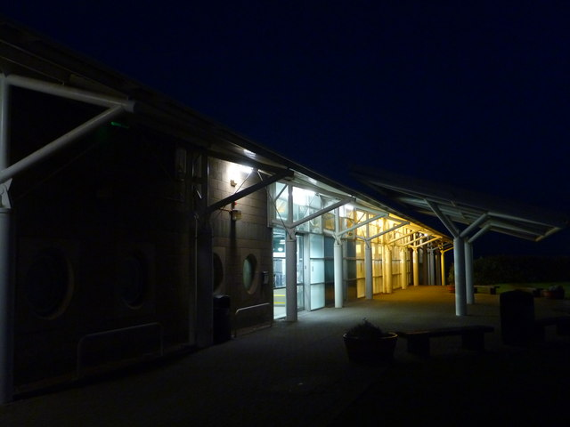East Lothian Architecture : Dunbar Leisure Pool