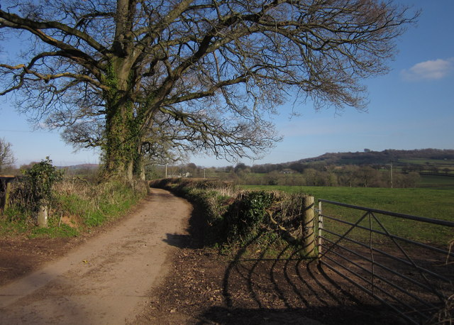 Lane to Hackpen Mill