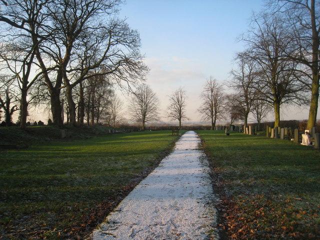 Churchyard extension, Harby