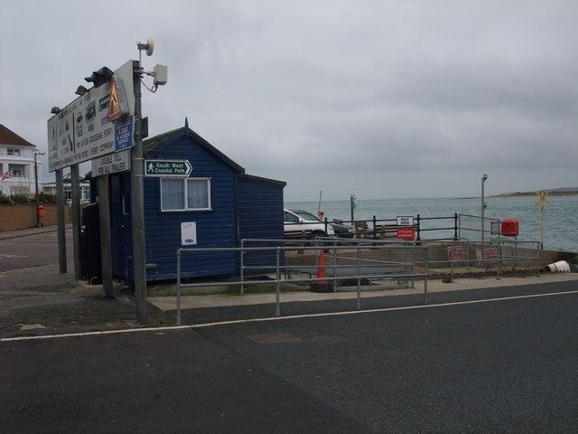 Ticket office, Sandbanks to Shell Bay Ferry