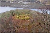 NM6356 : The dun overlooking Loch Teacuis by Pat Macleod