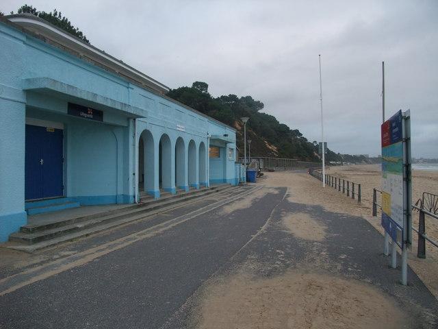 Public conveniences, Canford Cliffs, Poole Bay