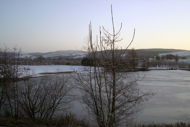 Frozen Lake at Annandale Water