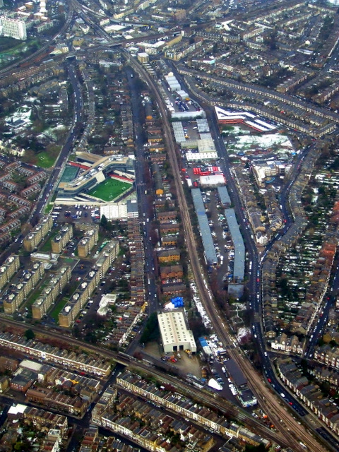 Brixton from the air