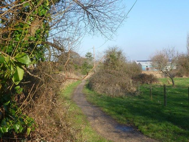 Lymington, Pinkney Path
