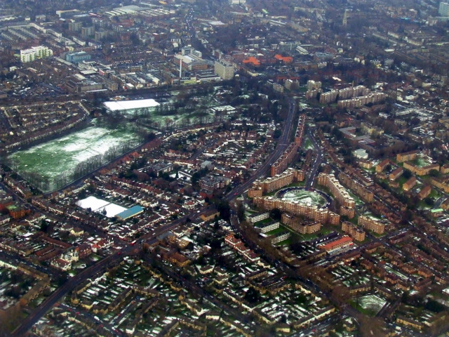 Dulwich from the air