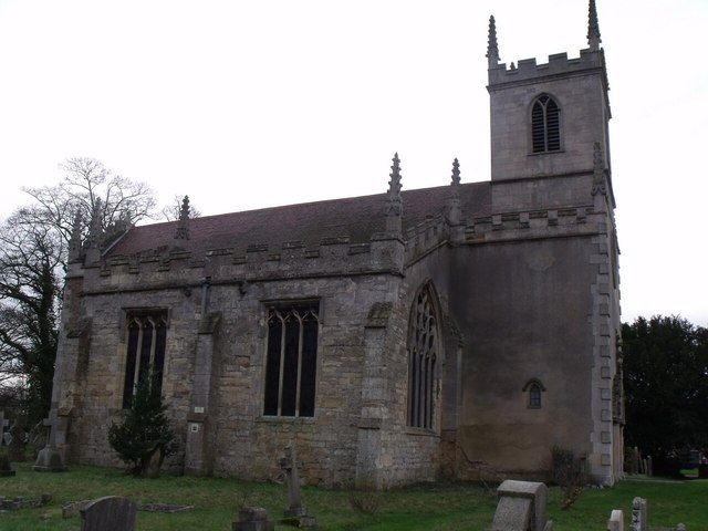 St Peter's church, Doddington