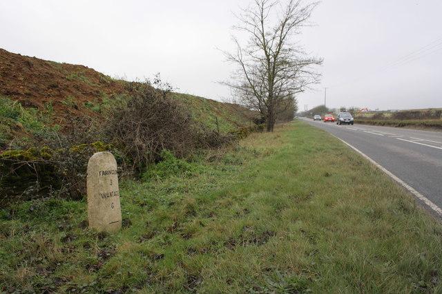Milestone on south side of Faringdon Road
