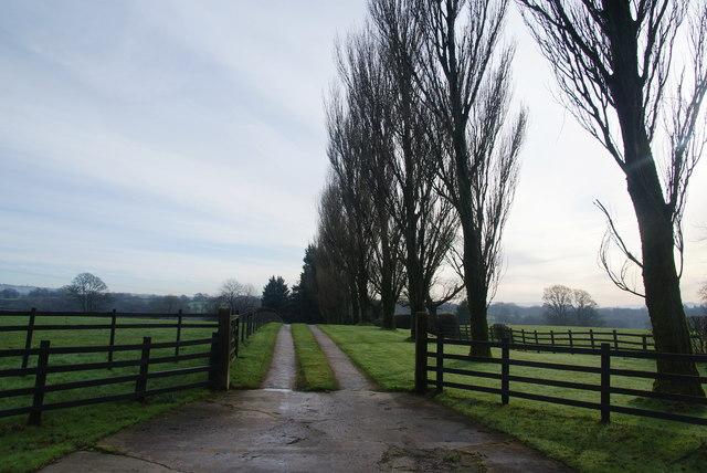 Unnamed farm entrance