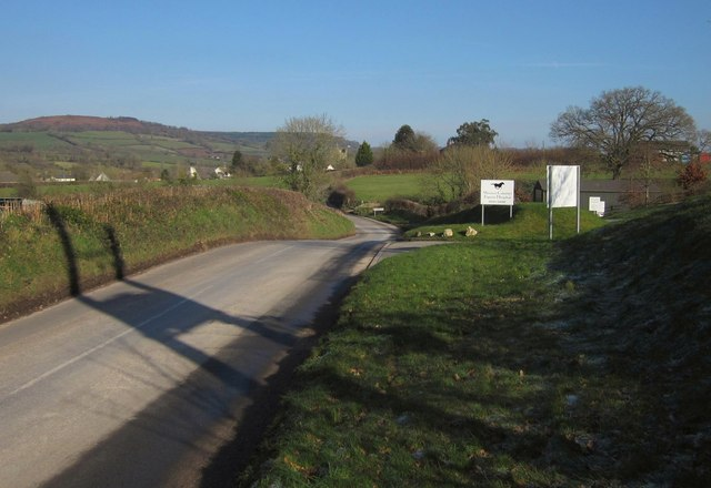 Road to Culmstock