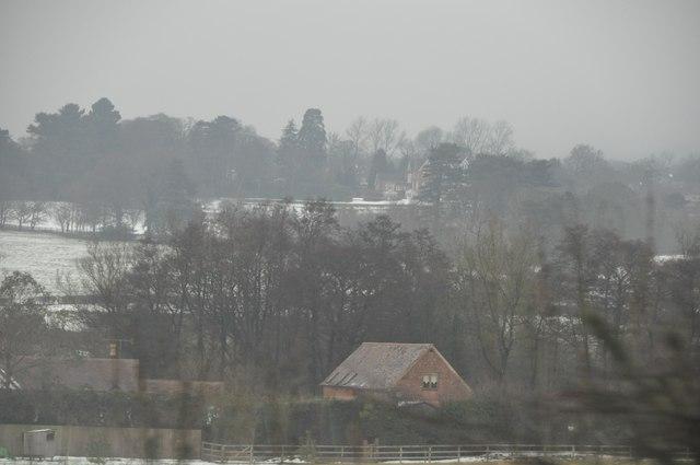 Bromsgrove : Snowy Scenery