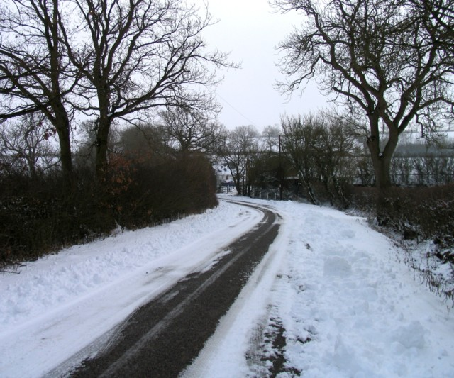 Braunston Road towards Martinsthorpe