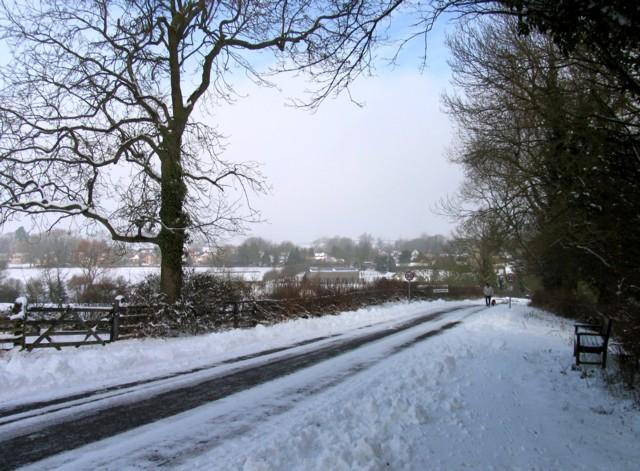 Wood Lane approach to Braunston-in-Rutland