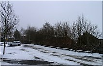 SK8508 : TESCO Oakham car park by Andrew Tatlow