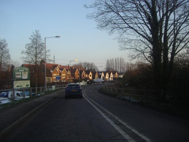 Entering Essex from Broxbourne