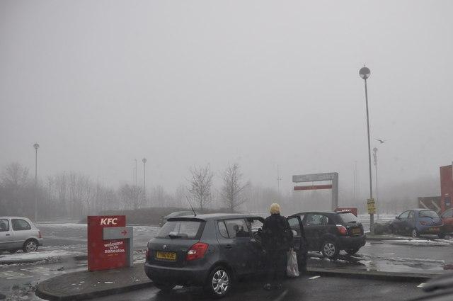 Nuneaton : KFC Car Park