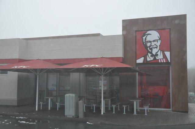 Nuneaton : KFC Restaurant