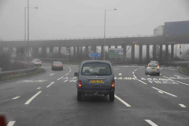 Nuneaton and Bedworth : M6 Junction 3