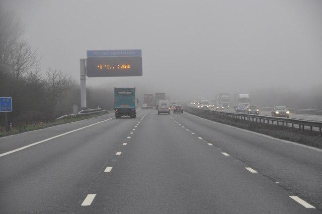 North Warwickshire : The M6 Motorway