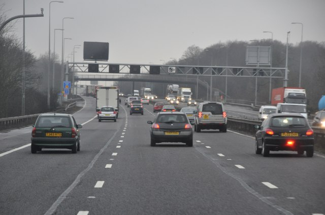 Solihull : The M42 Motorway